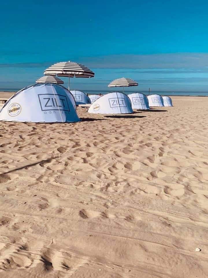 Zilt aan Zee beach bedden