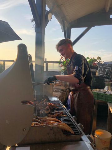 BBQ feest IJmuiden